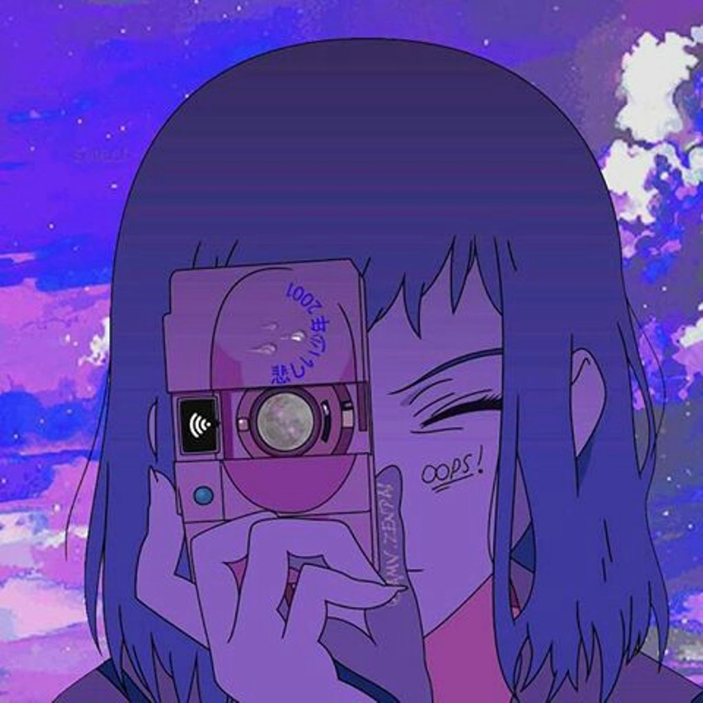 A place to express all your otaku thoughts about anime and manga. anime aestheticc purple uploaded by bro on We Heart It