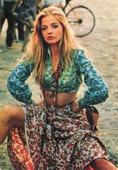 60 s hippie makeup
