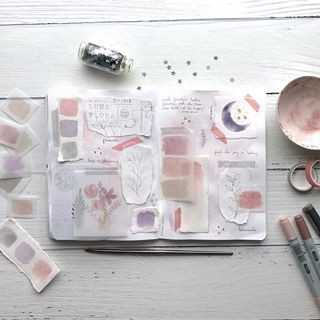 Pink Journal Aesthetic Idea Uploaded By Down The Rabbit Hole