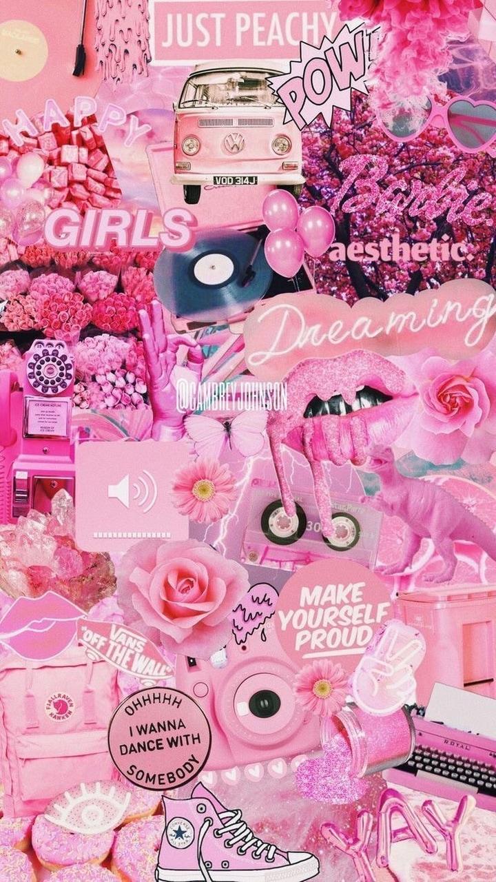 Barbie Aesthetic Wallpaper : barbie, aesthetic, wallpaper, Images, About, Wallpaper, ⚡️, Heart, Wallpaper,, Background, Aesthetic