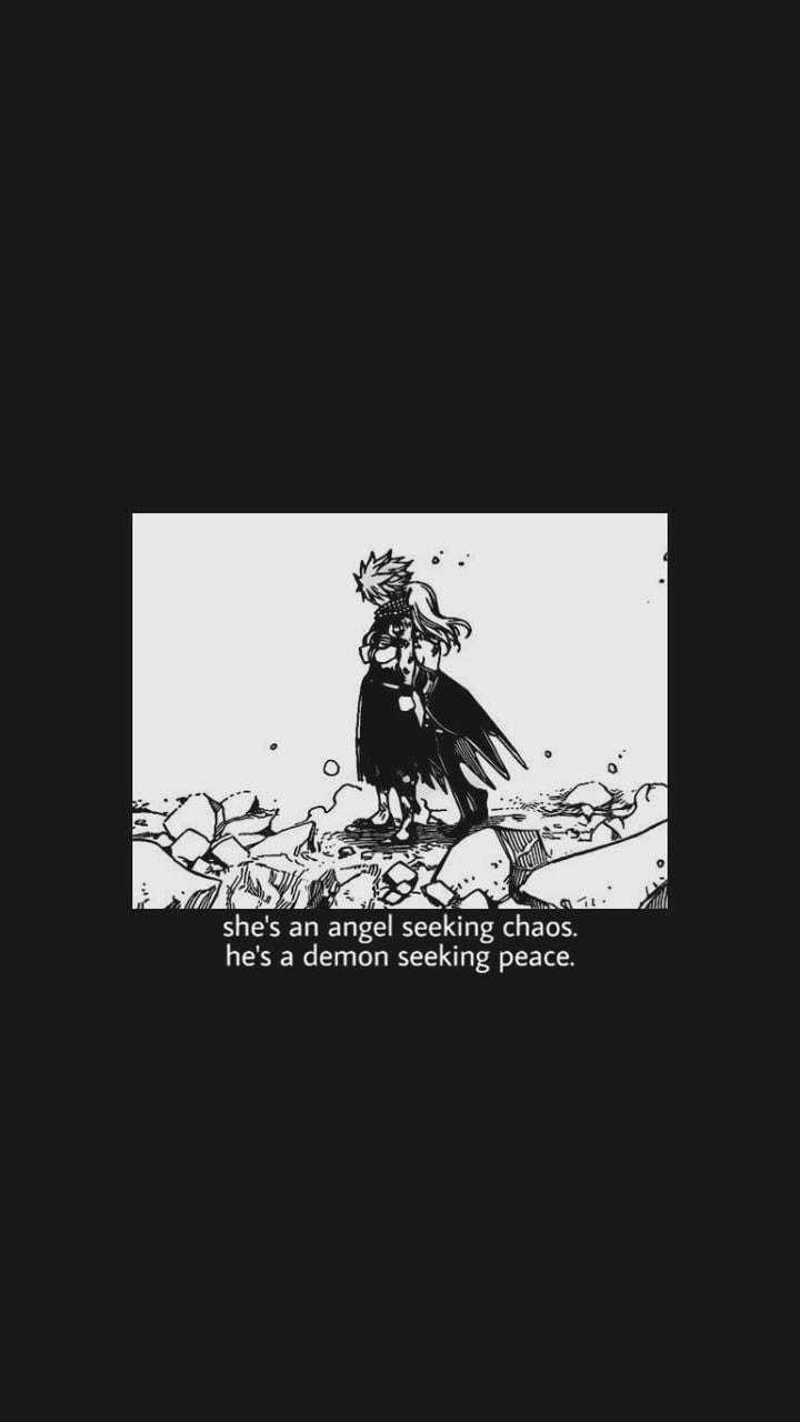 11 Lock Screen Aesthetic Black And White Anime Wallpaper