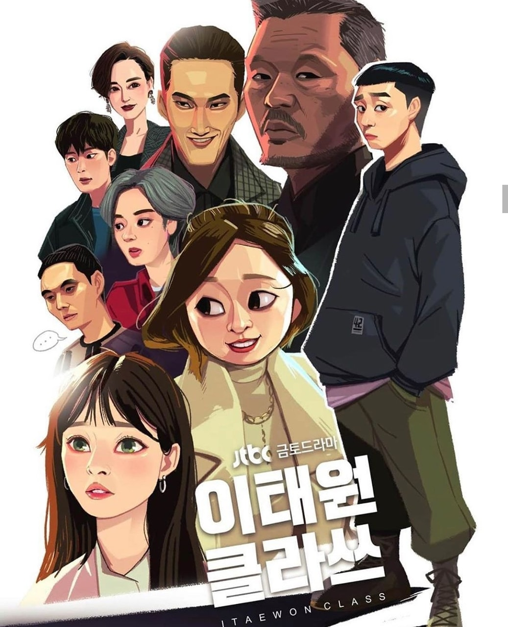 Itaewon Class Webtoon English : itaewon, class, webtoon, english, Itaewon, Class, Discovered, Lucia, Heart