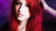 girl red hair blue eyes - inspiring