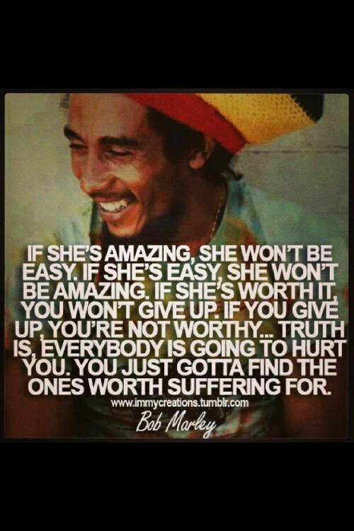 True Love Bob Marley Love Quotes : marley, quotes, Tumblr, Uploaded, Antivist, Heart