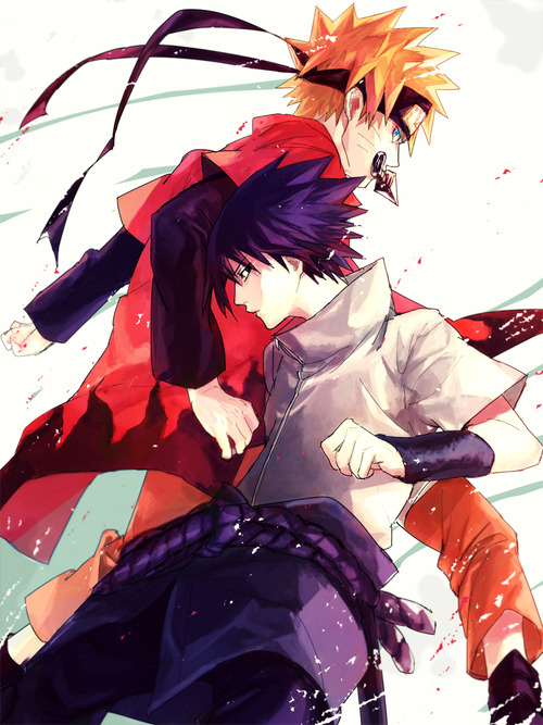 cool naruto and sasuke