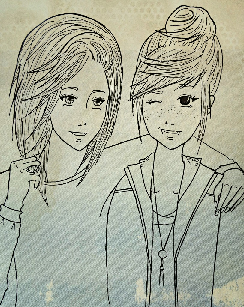 Best Friend Pictures To Draw : friend, pictures, Friendship, Drawings
