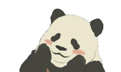 panda transparent cute google stickers transparents heart sweet blogging experience animal overlays reflection outlays theme visit notes ready party via