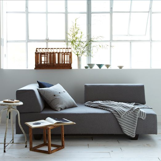 Apartment Goals West Elm Urban Armless Chair H : west elm dunham sectional - Sectionals, Sofas & Couches