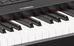 Authentic piano touch, 88-note weighted GHS keyboard