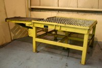 DEMPSET MACHINE HEAVY DUTY ROLLER BALL PRESS FEED TABLE