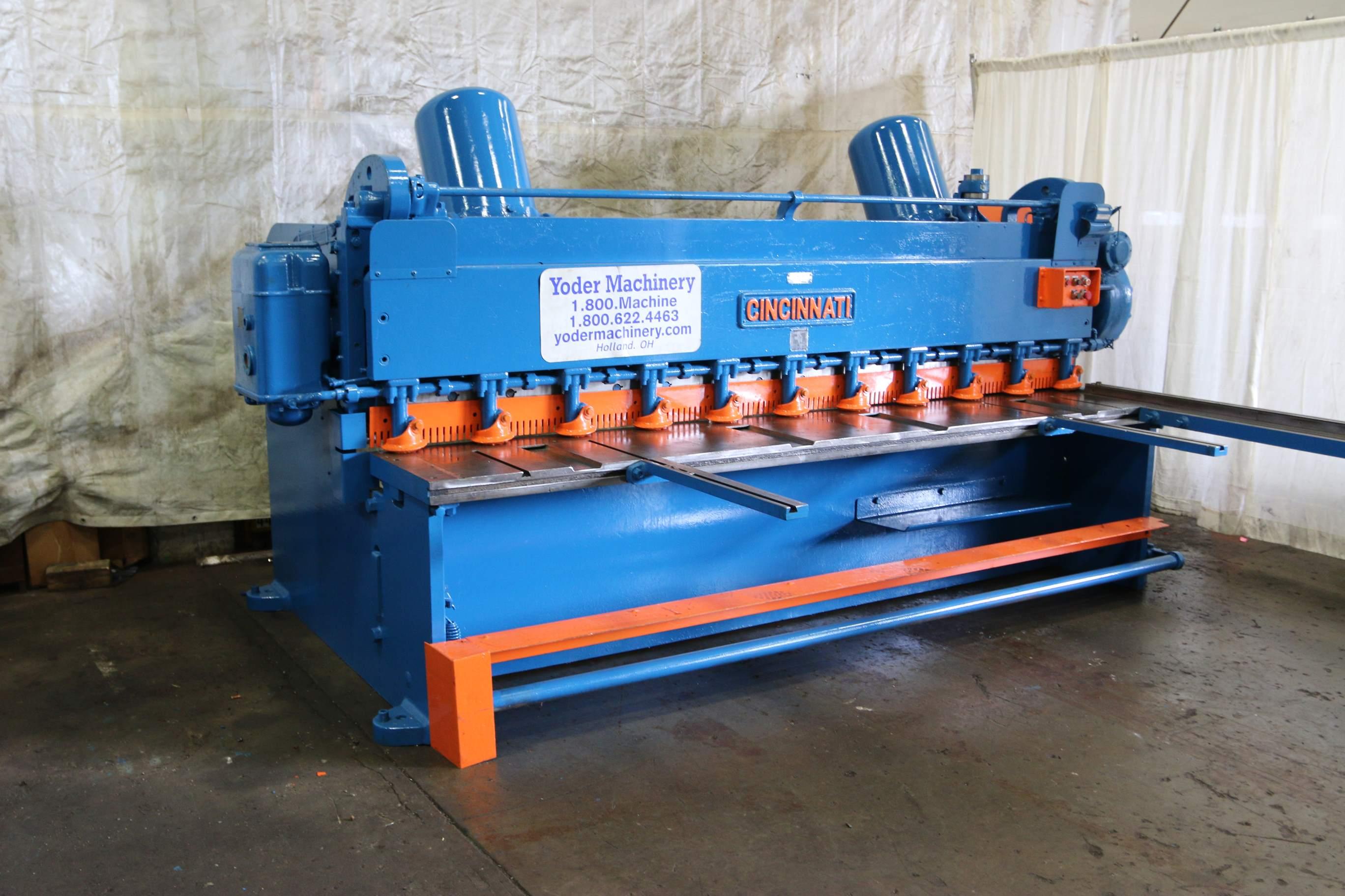 Cincinnati Shear Model 1810 Parts
