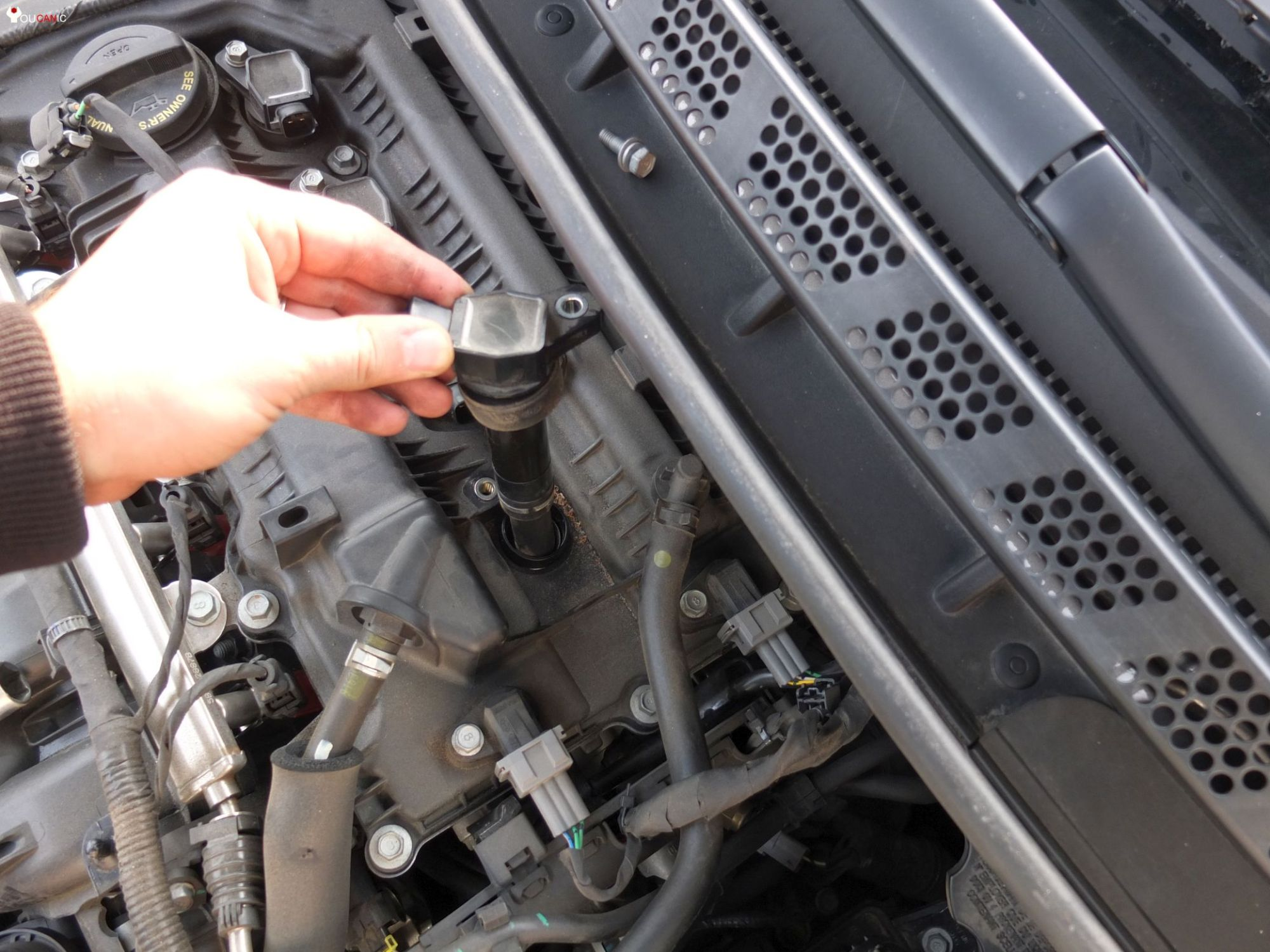 hight resolution of hyundai elantra spark plug change remove replace yourself diy guide