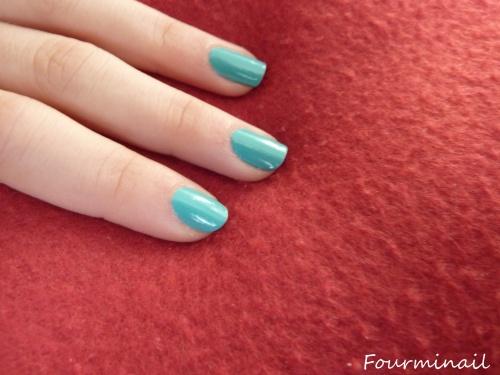 swatch 344 turquoise Kiko + racontage de vie :)