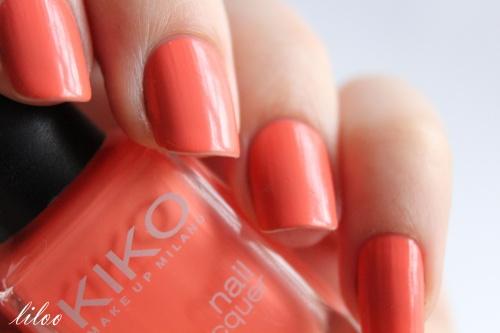 "Kiko 358 Peach rose et ma participation au concours de chouchou nail ""Tenshi no hana"" ..."
