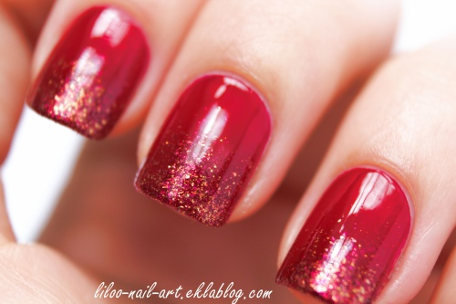 The sunday nail battle - Gradient nail ...