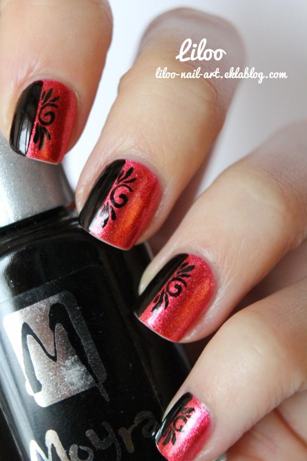 Golden Rose 130 Et Son Nail Art Le Blog