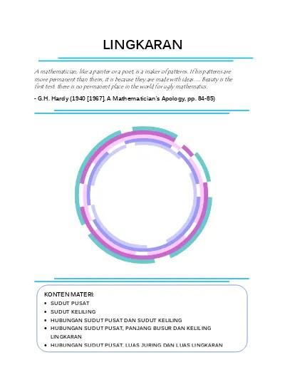 Panjang Busur Lingkaran : panjang, busur, lingkaran, BAHAN, KELAS, (Sudut, Pusat,, Sudut, Keliling,, Panjang, Busur,, Juring, Lingkaran, Beserta, Hubungannya)
