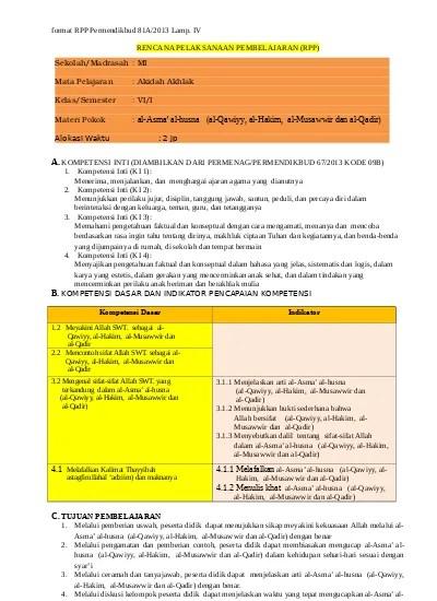 Prota Dan Promes Kurikulum 2013 Sd/mi Kelas 2 Revisi 2017 : prota, promes, kurikulum, sd/mi, kelas, revisi, Silabus, Prota, Promes, Kelas, Kurikulum, Revisi, Berkas, Edukasi
