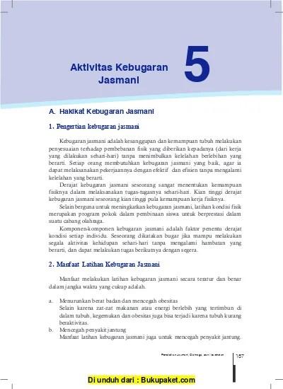 5 Unsur Kebugaran Jasmani : unsur, kebugaran, jasmani, Aktivitas, Kebugaran, Jasmani, 123dok.com