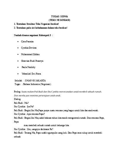 Tugas 2 Menyusun Kembali Teks Negosiasi Tentang Penjual Dan Pembeli : tugas, menyusun, kembali, negosiasi, tentang, penjual, pembeli, TUGAS, MENYUSUN, KEMBALI, NEGOSIASI