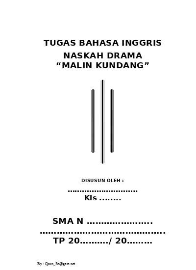 Naskah Drama Malin Kundang : naskah, drama, malin, kundang, TUGAS, BAHASA, INGGRIS, NASKAH, DRAMA, MALIN