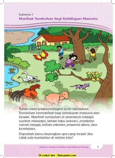 Manfaat Hewan Dan Tumbuhan : manfaat, hewan, tumbuhan, Subtema, Manfaat, Tumbuhan, Kehidupan, Manusia, 123dok.com