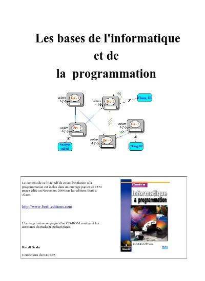 Cours D'informatique Pour Débutants Pdf : cours, d'informatique, débutants, Cours, D'informatique, Débutant, Informatique