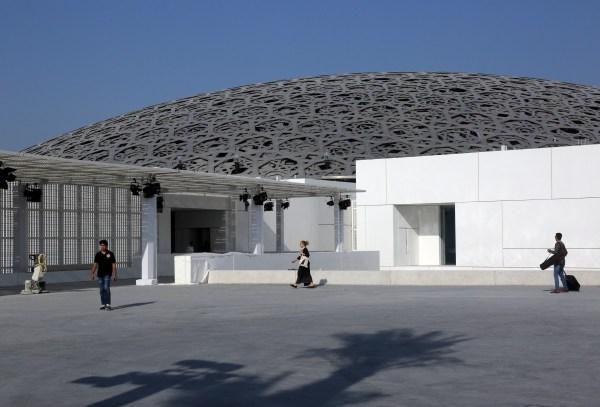 In Louvre Abu Dhabi Museum Opens Doors