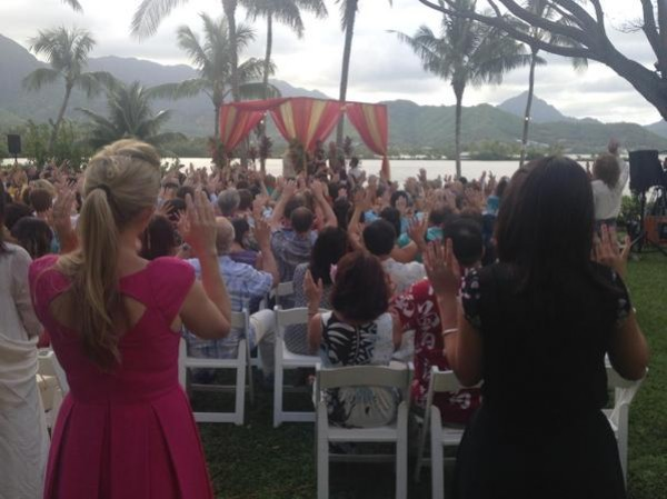 Tulsi Gabbard Marries Abraham Williams In Vedic Ceremony In Hawaii PhotosImagesGallery 5928