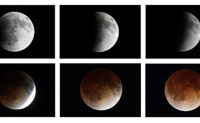 Total Lunar Eclipse 2014 Stunning Images Of The Rare