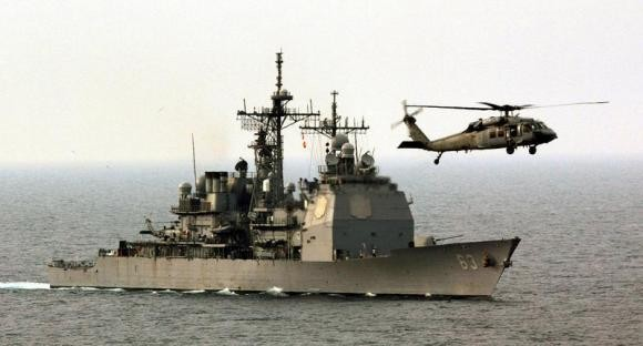 Chinese Warship Collision Us Harassing Liaoning Formation