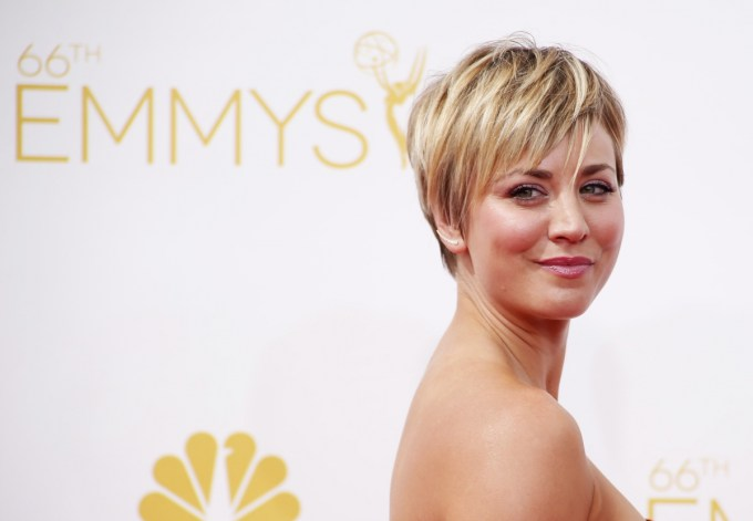 kaley cuoco still criticised for her hair cut: fans hate
