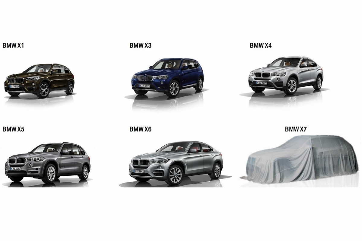 Bmw X7 Teased Flagship Suv Confirmed For Debut