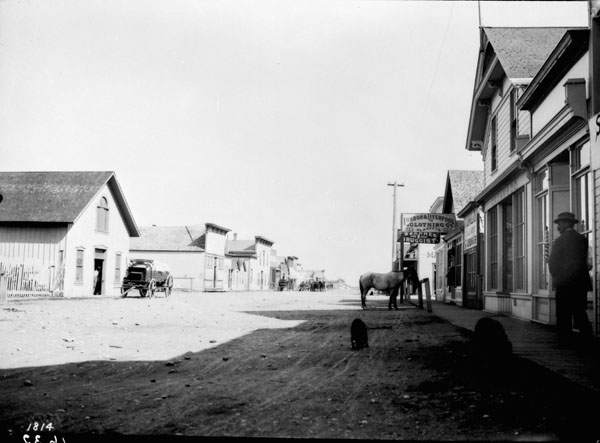 Fort MacLeod, Alberta, Canada. September 4, 1898.