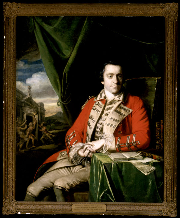 Portrait du colonel John Hale, vers 1763-1764.