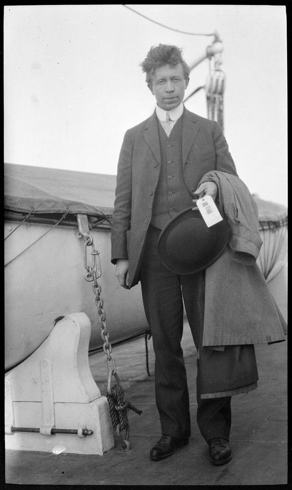 V. Stefansson on board the Karluk.