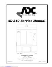 Adc AD-310 Manuals