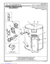 A O Smith Electric Water Heater Wiring Diagram GE Water