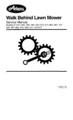 Ariens 911044-062 Manuals