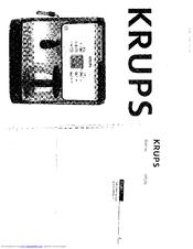 Krups EXPRESSO XP2070 Manuals