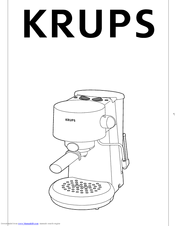 Krups Gusto 880-42 Manuals