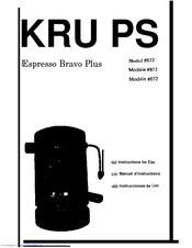 Krups 872 Manuals