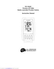 La Crosse Technology WS-7025U Manuals