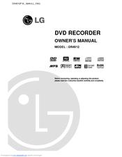 Lg DR4912 Manuals