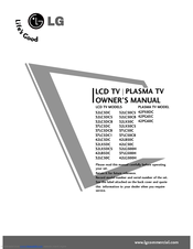 Lg 32LX5DC Manuals