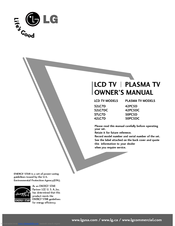 Lg 50PC5D Series Manuals