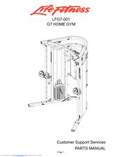 Life Fitness LFG7-001 Manuals