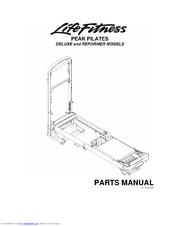 Life Fitness Peak Pilates Reformer Manuals