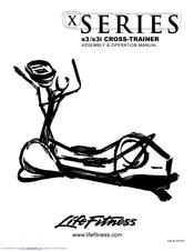 Life Fitness x3i Manuals