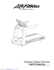Life Fitness 95T-XXXXX-02 Manuals